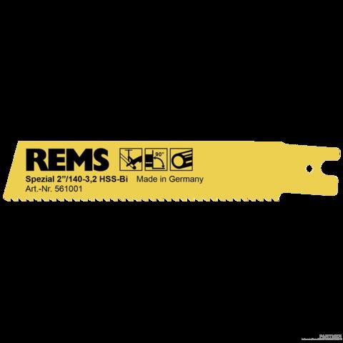 """REMS speciális fürészlap 2""""/140-3,2 acél csövekhez"""