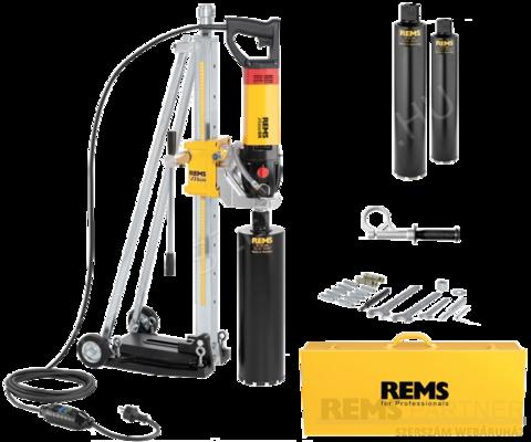 REMS Picus SR Set 62 - 82 - 132 Titan gyémántfúró